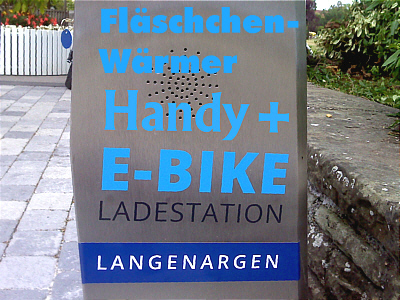 Handy-Station Fl�schchen