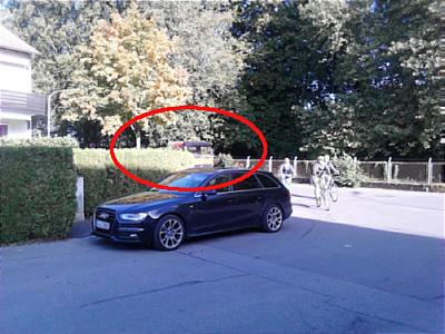LKW-Audi-Kurve