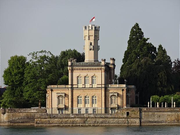 Langenargen Schloss vom See k