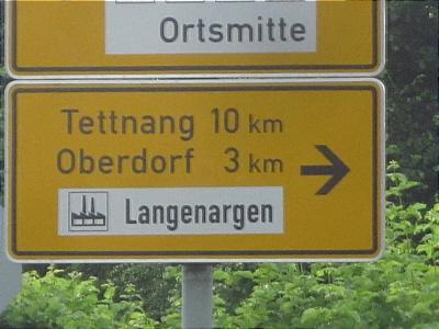 Schild Bahn 2